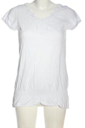 Zero T-Shirt weiß Casual-Look