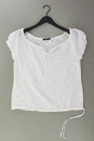 Zero Blouse à manches courtes blanc cassé coton