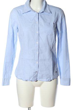 Zero Shirt met korte mouwen blauw zakelijke stijl