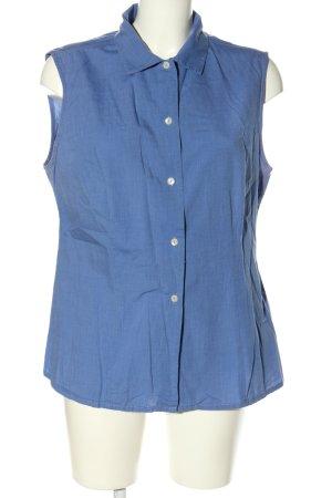 Zero Kurzarmhemd blau Casual-Look