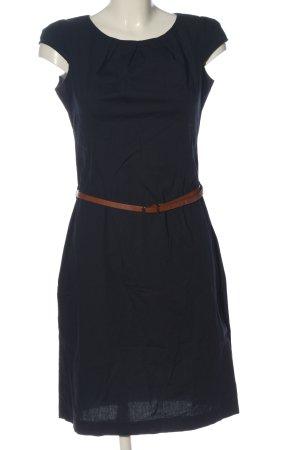 Zero Kurzarmkleid blau Business-Look