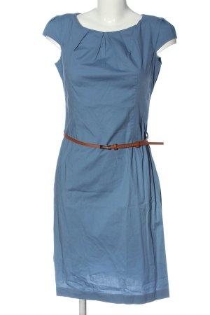 Zero Kurzarmkleid blau Casual-Look