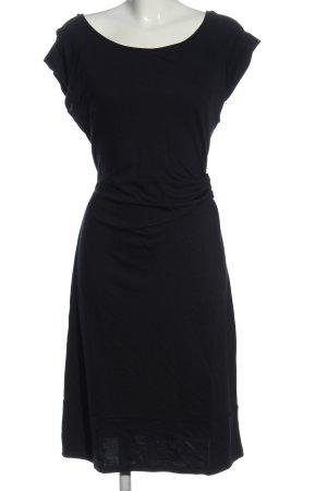 Zero Vestido de manga corta negro elegante