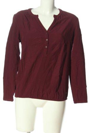 Zero Langarm-Bluse rot Casual-Look