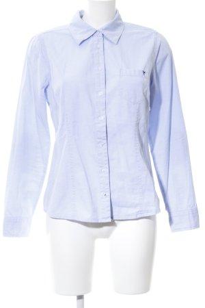 Zero Langarm-Bluse blau Business-Look