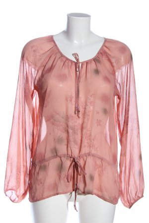 Zero Langarm-Bluse pink Casual-Look