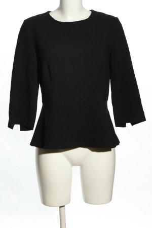 Zero Langarm-Bluse schwarz Casual-Look
