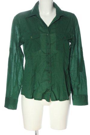 Zero Langarmhemd grün Casual-Look