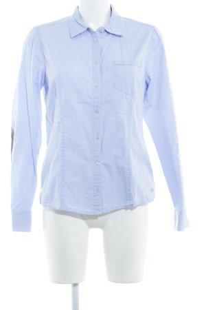 Zero Langarmhemd himmelblau Business-Look