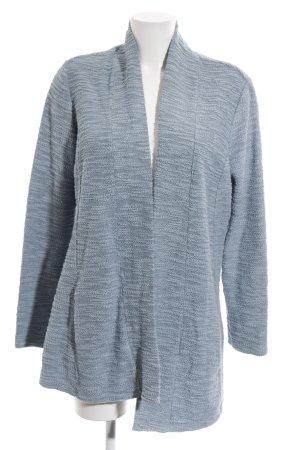 Zero Lange Jacke blau Allover-Druck Casual-Look