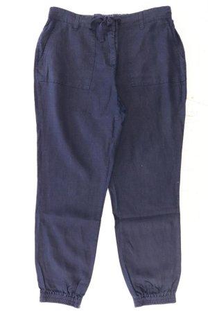 Zero Lniane spodnie niebieski-niebieski neonowy-ciemnoniebieski-błękitny Len