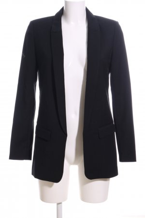 Zero Long-Blazer schwarz Business-Look