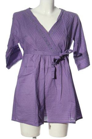 Zero Long-Bluse lila Casual-Look