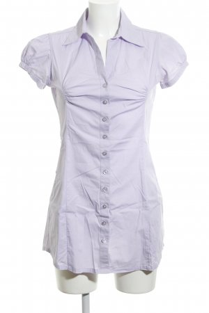 Zero Long-Bluse lila Business-Look