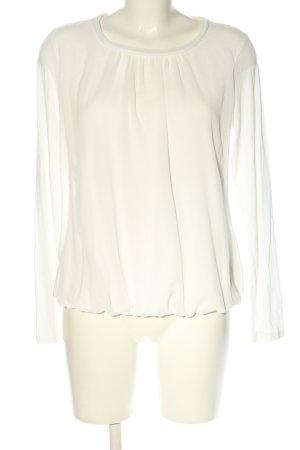 Zero Koszulka z długim rękawem biały W stylu casual