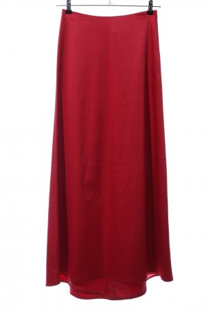 Zero Maxi Skirt red casual look