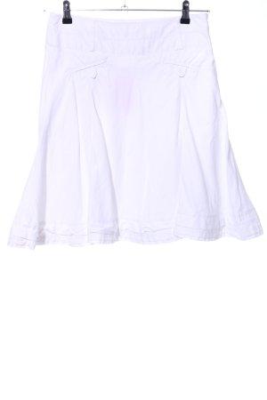 Zero Spódnica midi biały W stylu casual