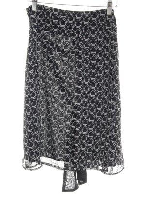 Zero Spódnica midi Abstrakcyjny wzór