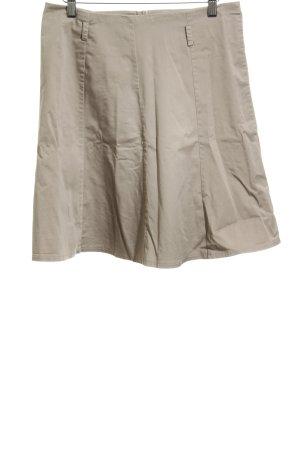 Zero Spódnica midi beżowy W stylu casual