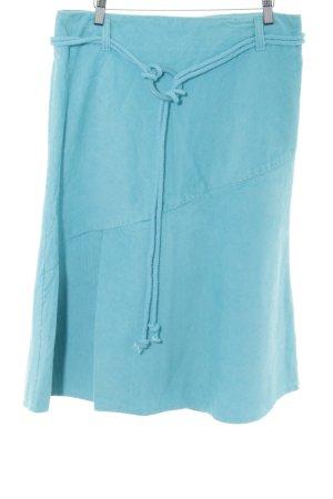 Zero Spódnica midi niebieski W stylu casual