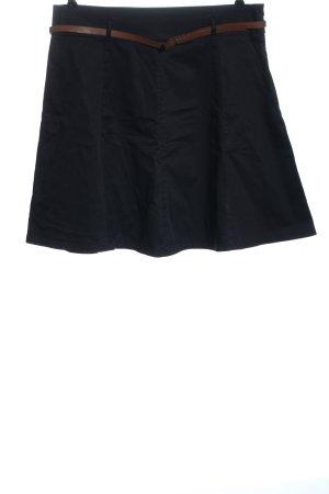 Zero Minifalda negro look casual
