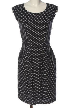 Zero Minikleid schwarz-weiß Punktemuster Casual-Look