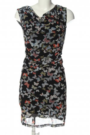 Zero Sukienka mini Nadruk z motywem W stylu casual