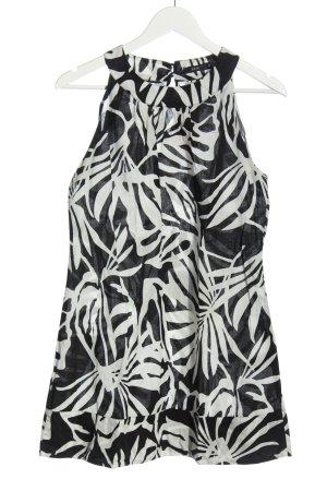 Zero Mini Dress white-black allover print casual look