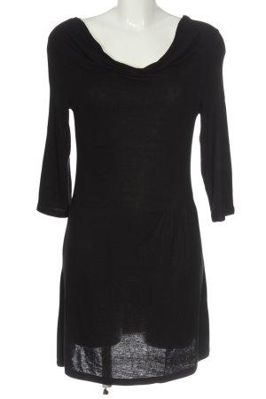 Zero Robe courte noir style décontracté