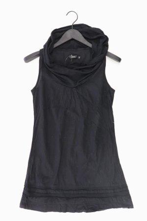 Zero Minikleid Größe 34 Ärmellos schwarz aus Baumwolle