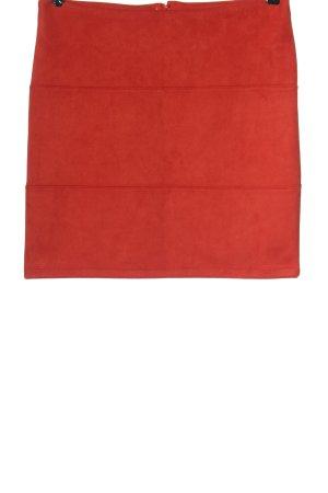 Zero Minifalda rojo elegante