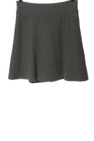 Zero Minifalda estampado a cuadros look casual
