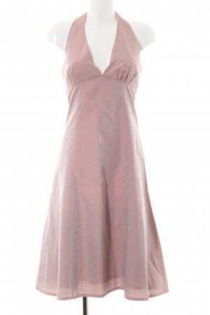 Zero Halter Dress pink elegant