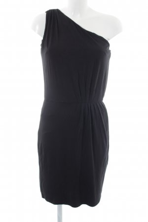 Zero One-Shoulder-Kleid schwarz Casual-Look