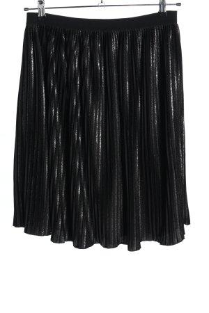 Zero Pleated Skirt black elegant