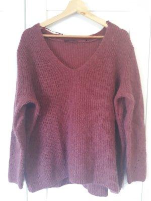 Zero Pull en laine violet