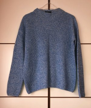 Zero Pullover blau himmelblau melange Gr. 38 Neu