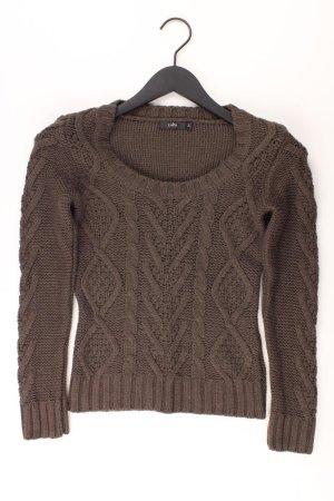 Zero Pullover braun Größe 34