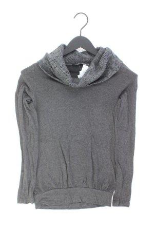 Zero Pullover Größe XS grau aus Viskose