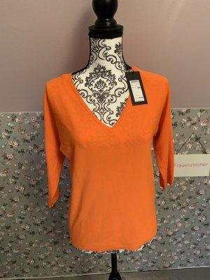 Zero Pullover orange Gr. 34 NEU