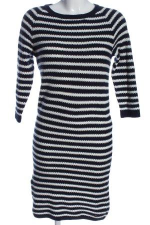 Zero Pulloverkleid weiß-blau Allover-Druck Casual-Look
