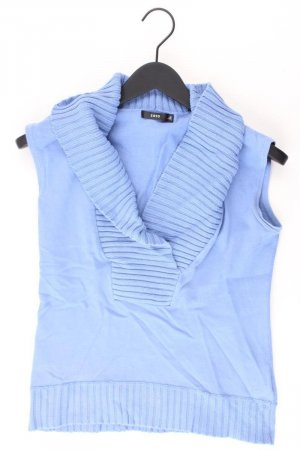 Zero Pull sans manches bleu-bleu fluo-bleu foncé-bleu azur coton