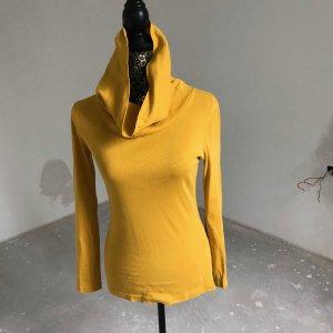 Zero Maglia a collo alto giallo-oro