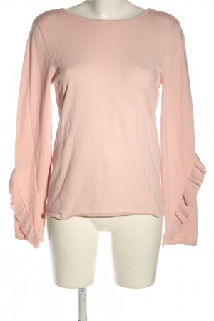 Zero Frill Top pink casual look