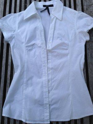 Zero schicke Bluse, weiß, Größe 34, angeschnittene Arm