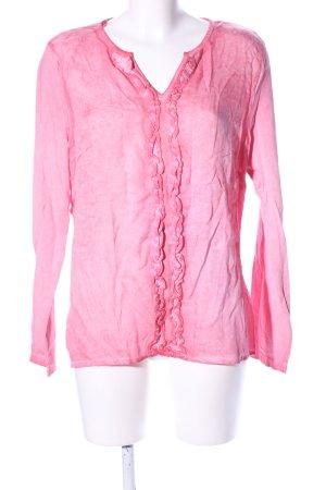 Zero Schlupf-Bluse pink Casual-Look