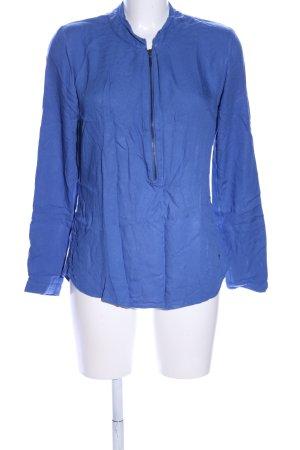 Zero Schlupf-Bluse blau Casual-Look