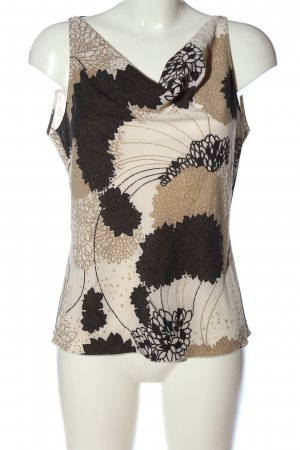 Zero Blouse topje abstract patroon casual uitstraling