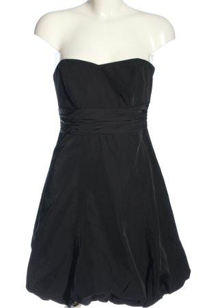 Zero schulterfreies Kleid schwarz Elegant