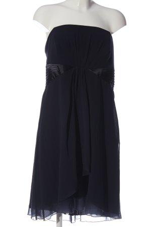 Zero schulterfreies Kleid blau Casual-Look